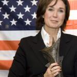 Profielfoto, Esmée Ficheroux als winnaar verkiezingen