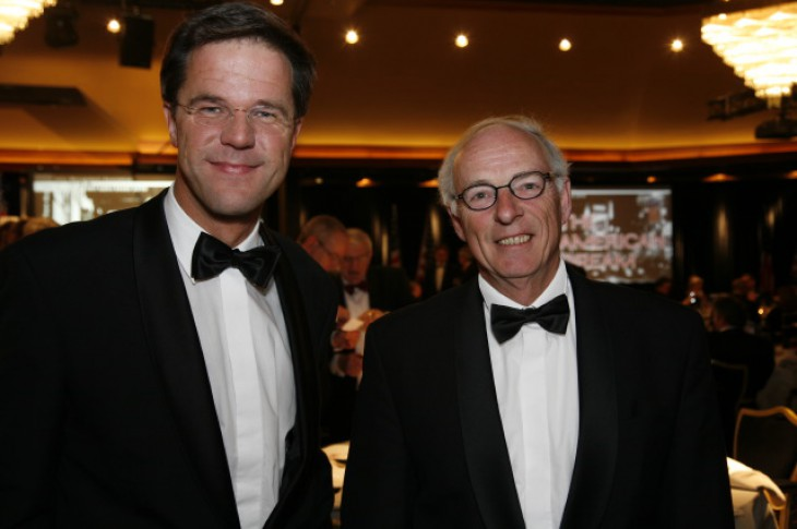 Mark Rutte op Piet Heyn Award