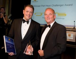 Winnaar Piet Hyen Challenger Award 2011